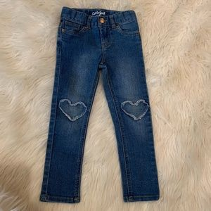 4T Cute for Valentines Day! Cat & Jack Skinny Jean